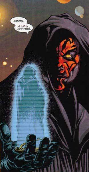 Sidious gives Maul his orders