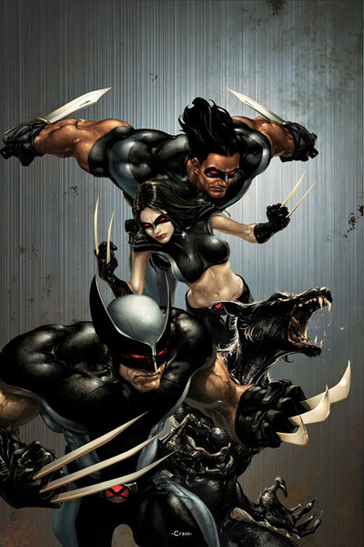 Warpath joins Wolverine's X-Force