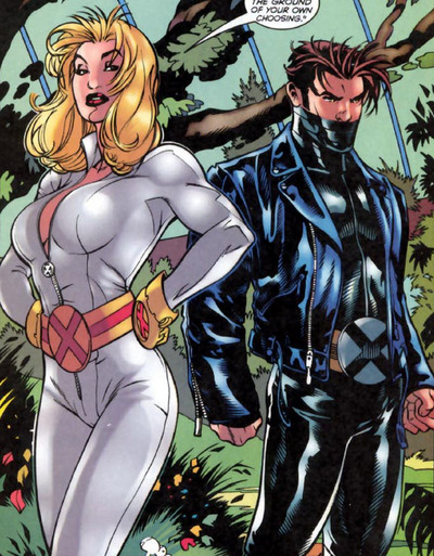 Emma Frost and Chamber