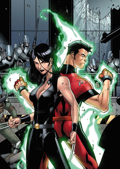 Hellion and X-23