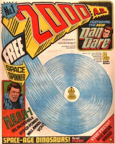 The first issue from 1977