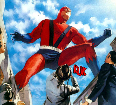 Hank became Giant-Man not long after joining the Avengers.