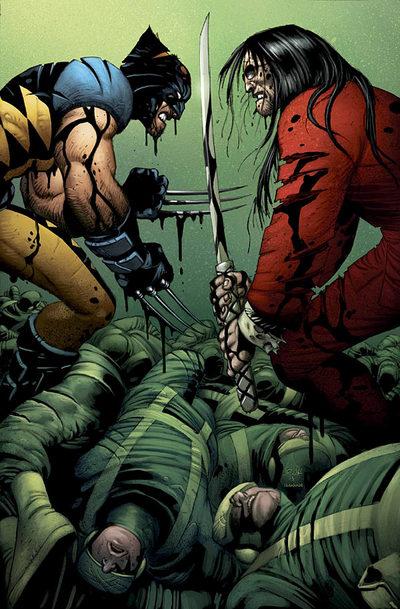 Wolverine vs. Gorgon
