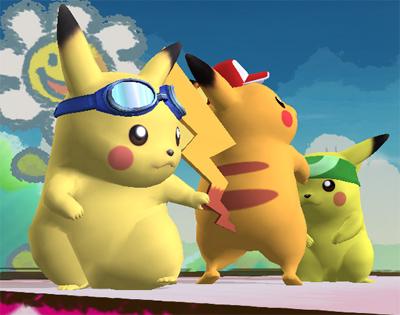 Many Different Pikachu