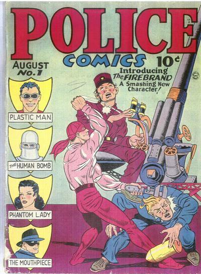 Police Comics #1