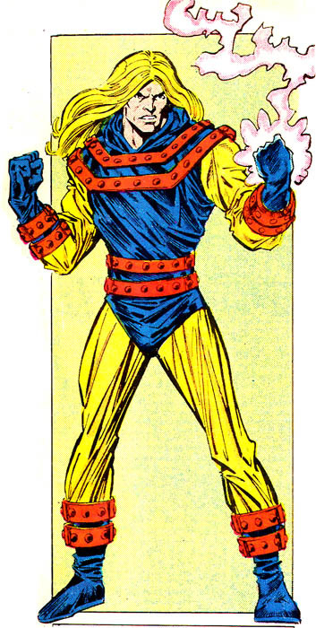 Nuke's second costume, designed to prevent him giving anyone cancer