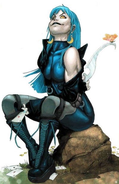 Mystique as Foxx