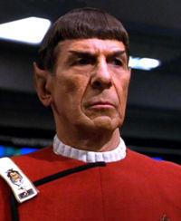 Spock in 2287