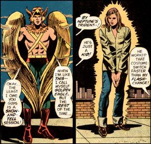 Golden Eagle is Charley Parker