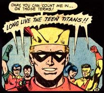 A member of the Teen Titans
