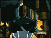 Slade in the Teen Titans.