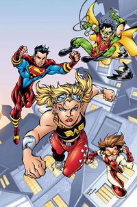 Girls Join Young Justice