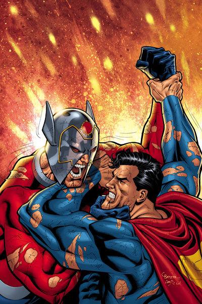 Orion vs Superman