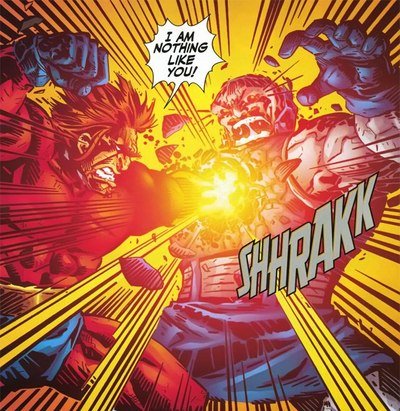 Orion Kills Darkseid