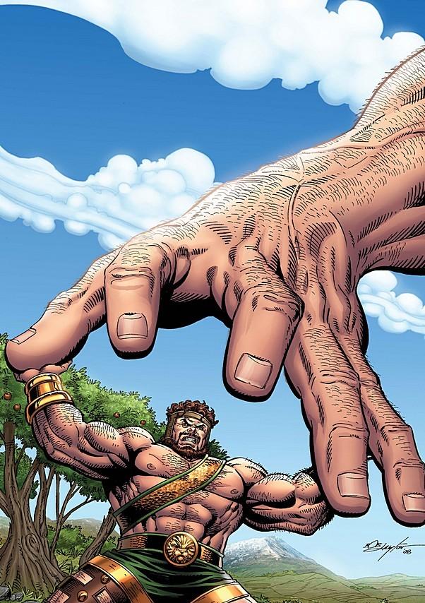 Hercules - Matching strength against Atlas