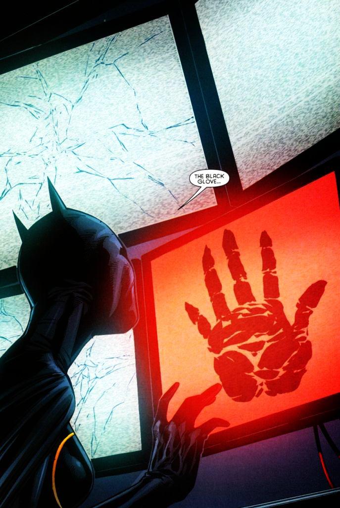 The symbol of the Black Glove