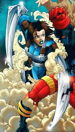Razorsharp and her blades