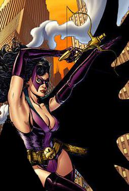 Batman as Huntress