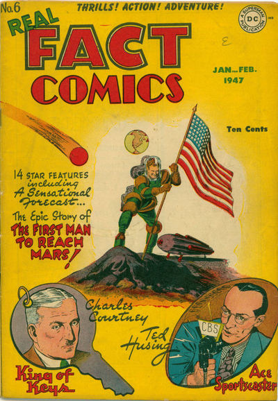 Real Fact Comics #6 Ellison's first published written work