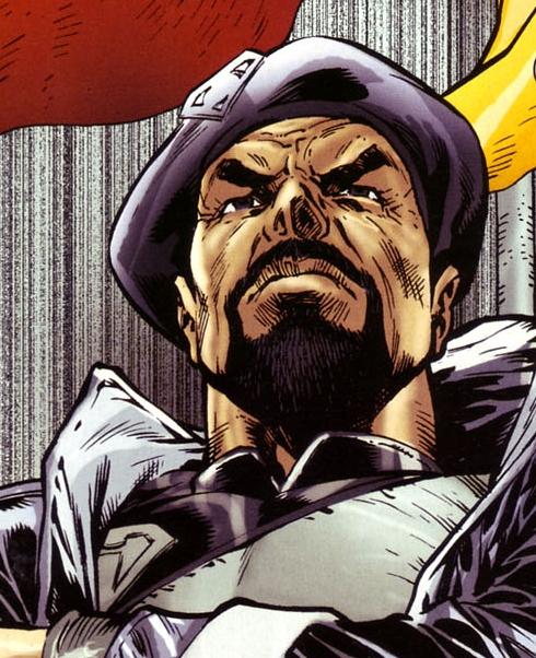 Zod, As a commander you need a beard!
