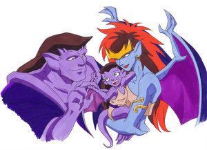 Demona and Goliath