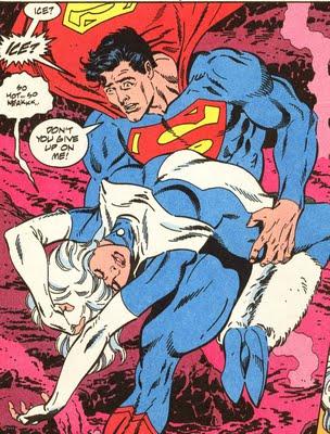 Superman saves Ice