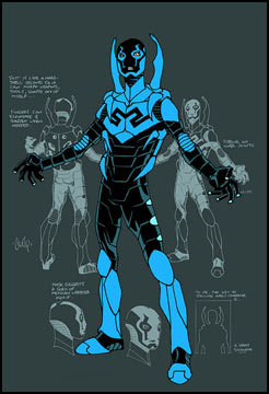 Blue Beetle, Blue Print