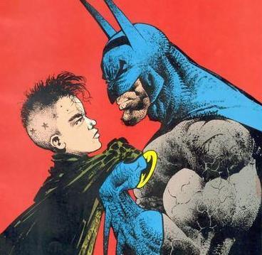 General Faces Batman