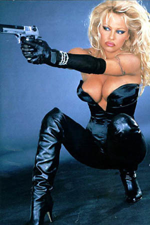 Pam as Barb Wire