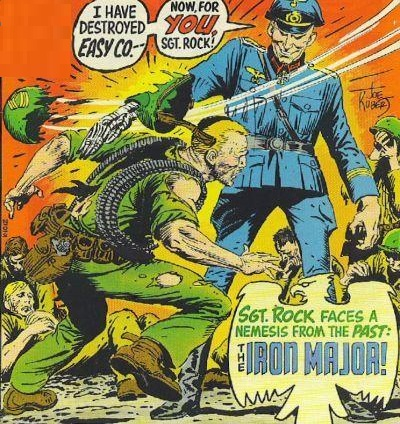 Iron Major and Sgt. Rock