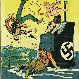 Take that Nazi!