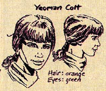 Early Sketch of Colt