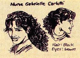 Sketch of Gabrielle