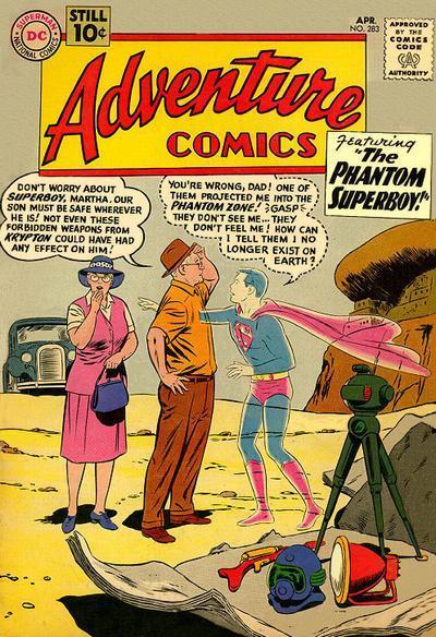 Adventure Comics #283