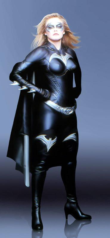 Alicia Silverstone as Batgirl #4