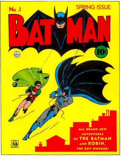 Batman and the first comic book sidekick: Robin