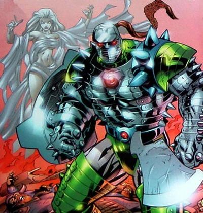 Desak in Destroyer Armor