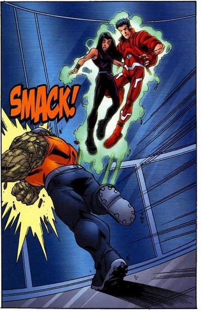 Hellion saves X-23