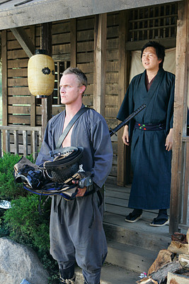 Takezo Kensei is revealed to be a 'gajin'...