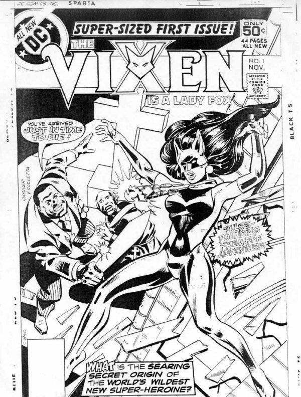 This was the first concept of Vixen