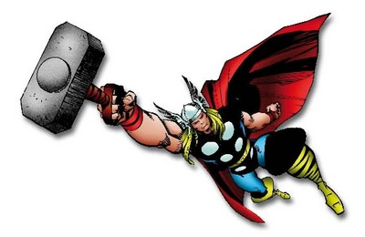 Mjolnir grants Thor flight.