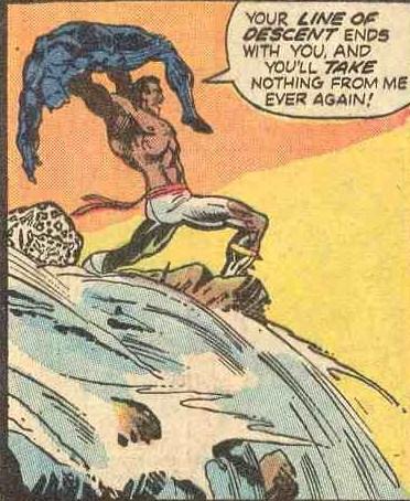 Black Panther vs. Eric Killmonger