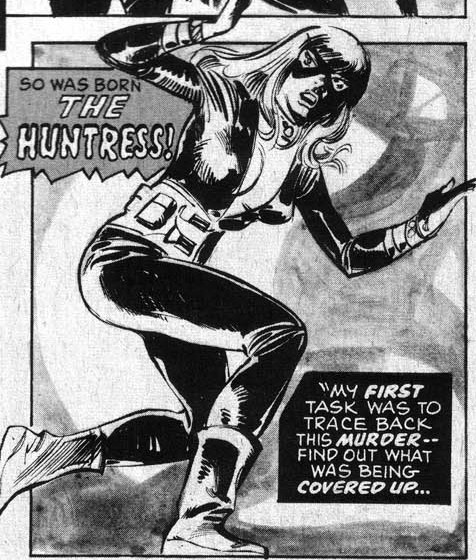 As the Huntress
