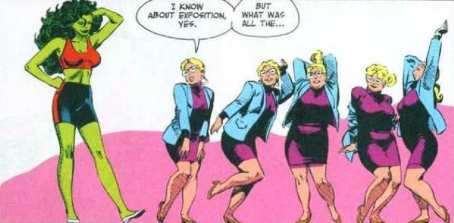 She-Hulk and 'Weezi' Mason