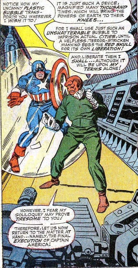 Even within modern time, the Red Skull still proved to be ever dangerous as he was before.