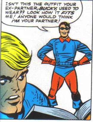 Rick Jones briefly becomes Cap's new Bucky.