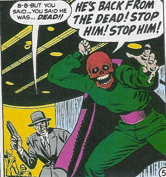 The Soviet Government would have Albert Malik capitalize the Red Skull identity, despite the hostility between communism and Nazism.