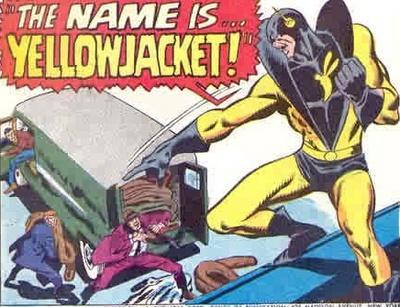 Yellowjacket unleashed.