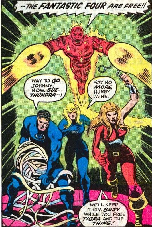Thundra - Ally of the Fantastic Four