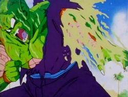Piccolo regenerating his arm.